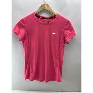 Nike Dri-Fit Pink Reflective Training Shirt Size S